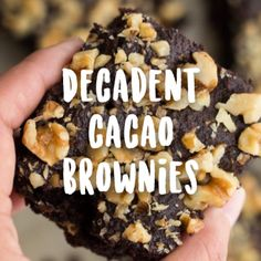 how to make cacao brownies