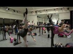 Awesome Royal Ballet Class video, includes barre and center routines