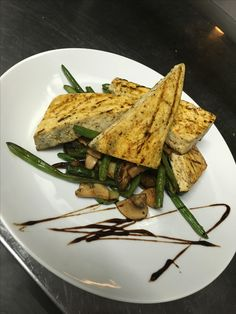 Tofu s grilovanou zeleninou