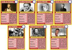 """El juego de cartas """"Top Female Scientists"""""""