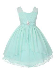 DressForLess Double Layered Yoru Chiffon Flower Girl Dress, Mint, 4, (KK5725MT-4) DressForLess http://www.amazon.com/dp/B00K8F3TVY/ref=cm_sw_r_pi_dp_yhrWub00E0FWD