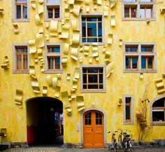 Kunsthofpassage Singing Drain Pipes, Germany