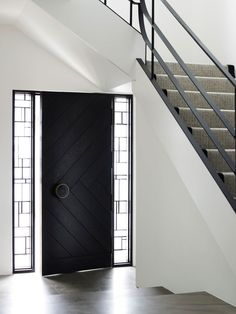 stunning door at Middlepark House