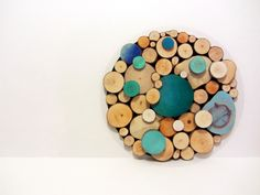 Custom Listing for April Tree slice Art Rustic by Treelovergirl, $70.00