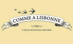 lisboanapontadosdedos.blogspot.com Paris Arrondissement, Poster Ads, My Love, Comme, Illustrations, Boutique, Design, Pastel De Nata, Sicily