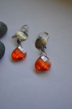 www.stillLily.etsy.com Lily, Drop Earrings, Personalized Items, My Style, Simple, How To Wear, Jewelry, Design, Jewlery