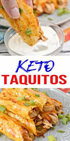 BEST Keto Taquitos! Low Carb Keto Cheese Wrapped Shell Taquitos Idea – Quick & Easy Ketogenic Diet Recipe – Completely Keto Friendly! Easy, fast & simple gluten free, sugar free keto recipe for BEST low carb no tortilla keto Taquitos. Tasty keto lunch or dinner. Ditch Fast Food for AMAZING #keto recipe. Yummy low carb recipe. Enjoy w/ salsa, ranch or guacamole on ketogenic diet. Great for parties (Halloween, Thanksgiving, Christmas) #lowcarb #ketogenicediet-CLICK for this favorite keto recipe