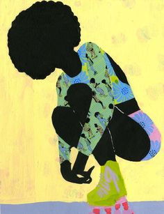 We the People of the Diaspora-Black Culture Exploration is a fashion illustration series by Jamilla Okubo. Okubo is a textile design artist influenced from her Kenyan and Trinidadian culture. African American Art, American Artists, African Art, African Women, American History, Famous Black Artists, Natural Hair Art, Art Textile, Afro Art