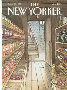 The New Yorker - Monday, November 10, 1980 - Issue # 2908 - Vol. 56 - N° 38 - Cover by : Arthur Getz