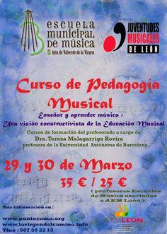 JM Spain:Music Pedagogy Course More info>>>http://www.puntocoma.org/2014/03/curso-de-pedagogia-musical-ensenar-y.html #jmi #music #jeunessesmusicales