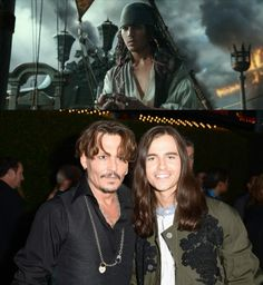 This is the young Jack Sparrow. The actor is actually quite scary