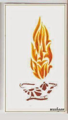 muskaan's T*I*P*S: Art : Diwali Diwali Drawing, Stencils, Drawings, Art, Art Background, Kunst, Sketches, Templates, Performing Arts