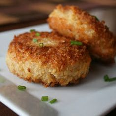 We love these pan fried #risotto #cakes