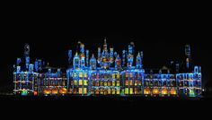 Chambord at christmas. Nobody does artistic lighting like the French do.
