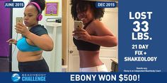 Ebony Cornish lost 33 lbs. in six months with 21 Day Fix and Shakeology!  Tell us about your life before you started the program. How did you feel about yourself and your body?   Before joining my first 21 Day Fix Challenge Group I was lethargic sluggish and had no energy. I had big dreams and wished to be better but I just didnt know where to start. I had started and failed so many times. I really lost faith that Id ever be able to stick to something once and for all. I was just getting…