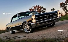 Another amazing project from our friends at Roadster Shop, Andy's beautiful '65 Pontiac GTO features Forgeline DS3 wheels finished with Brushed centers and Polished outers. See more at: http://www.forgeline.com/customer_gallery_view.php?cvk=1173  #Forgeline #DS3 #notjustanotherprettywheel #madeinUSA #Pontiac #GTO #Goat