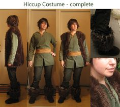 The hiccup costume i will be attempting to make for my son.