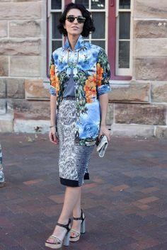 Street Style at Australia Fashion Week Spring 2012 Photo 1