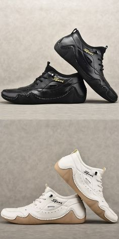 Leather Fashion, Leather Men, Fashion Shoes, Men's Shoes, Shoe Boots, Dress Shoes, Business Shoes, Awesome Shoes, Martin Boots