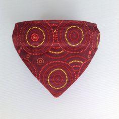 Dog Bandana / Pet Bandana / Indigenous Print / Slips on the