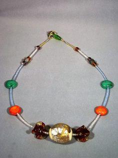 Collier perle vetro murano
