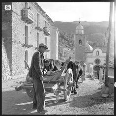 Sardegna DigitalLibrary - Immagini - Desulo, via Lamarmora 1955