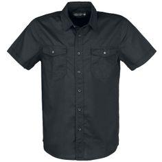 """EMP Black Premium Hemd """"Roadstar"""" Männer schwarz - Exklusiv bei EMP! EMP"""