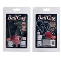 No bondage experience is complete without a ball gag. Add this classic piece to your collection for the ultimate way to silence and restrain your partner.
