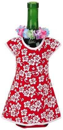 Hawaiian Honolulu Girl Wine Bottle Jacket, Red by wine-bottle-jacket-girl. $8.99. *Made of high quality flexible neoprene material. *Perfect fun gift item for party or any occasion. *Dress up your wine bottles with our new insulated jackets. Adorable and convenient, the Hawaiian Girl Wine Bottle Jacket is perfect for any occasion. With an insulated interior, this wine bottle jacket can keep your bottle cool to the touch. Hurry and get yours today before it surfs away!