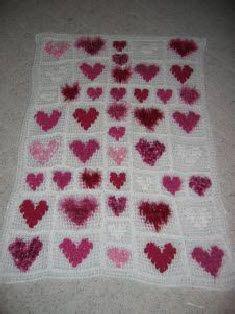 Hearts Of Many Yarns Afghan Free Crochet Pattern