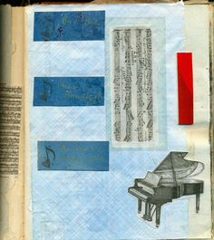 Altered Book Lover: Moo-Mania and More: Music