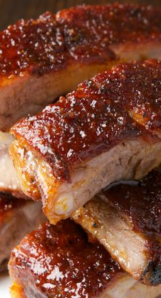 St. Louis Ribs with Maple BBQ Sauce Recipe