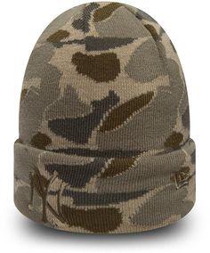 f0250226788 NY Yankees New Era Camo Cuff Knit Beanie