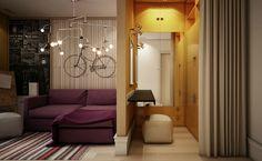 Χωρίστε το υπνοδωμάτιο σε δύο χώρους για να νιώθει το παιδί πως μένει σε ένα αυτόνομο χώρο που μπορεί να αξιοποιήσει όπως θέλει