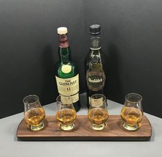 Sale! Personalized Whisky Whiskey Bourbon Scotch Tasting Flight. Solid Walnut 4 Glencairn Glass Set Serving Tray. Whisky Lover Gift.  #whiskyflight #mancave #scotch #bar #forhimgift #giftforman #giftsforhim #giftideas #gift #bartender #glencairn #servingtray #gifts #homebar #etsy #barware #drinks #glenlivet #whiskygram #maltwhisky #whiskytasting #whiskylife #scotchtasting #whisky #whiskey #distillery #whiskybar #bourbon #party #whiskylover #glenfiddich #entertaining #giftfordad #prwoodworks
