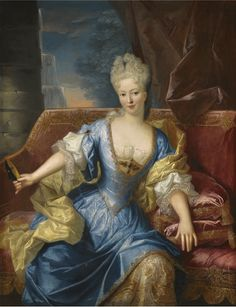 Portrait of Elisabeth Farnese of Parma, Queen of Spain by