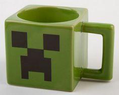 Un mug Minecraft Creeper