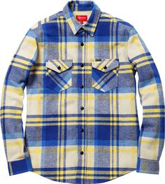 Heavyweight Plaid Supreme Shirt