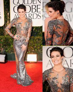 2012: Lea Michelle-MARCHESA