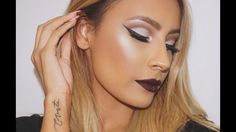 Vampy Rihanna inspired makeup look - Desi Perkins Eyebrows On Fleek, Perfect Eyebrows, Eye Brows, Tweezing Eyebrows, Threading Eyebrows, Best Eyebrow Products, Makeup Products, Makeup Tips, Lord
