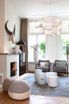 via Maaike van Diemen. Everything about that living room.