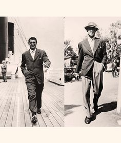Cary Grant (1904-1986): Simply one of the most influential dressers of all time.