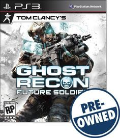 Tom Clancy's Ghost Recon: Future Soldier — PRE-Owned - PlayStation 3