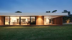 A Low Profile Home Designed Around A Theme Of Coastal Modernity