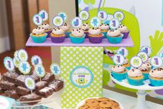 Monster's Inc Birthday Party Ideas | Photo 8 of 19 | Catch My Party