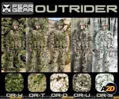 Fear Gear Camouflage - Going to be tested by US Army