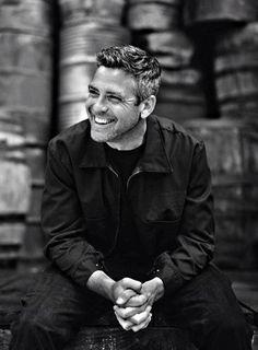 George Clooney..charming