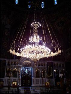 Wnętrze jednej z ateńskich świątyń