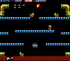 Mario Bros. | Vintage Coin-Op Video Game Layout
