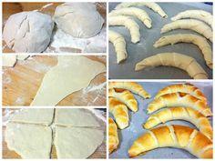 ha nincs időm kenyér sütéshez, akkor jön ez a recept. Pastry Recipes, Bread Recipes, Cooking Recipes, Hungarian Recipes, Russian Recipes, Food N, Food And Drink, Savory Pastry, Sweets Cake